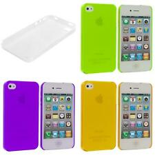 0.3mm Color Super Ultra Thin Hard Frost Case Skin Cover for iPhone 4 4G 4S