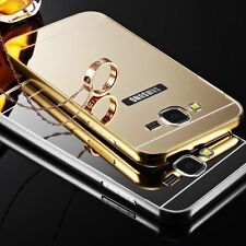 Aluminium Alloy Metal Frame Case Cover  Screen Protector For iPhone Samsung UK