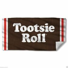 Beach Towels New Authentic Tootsie Roll Wrapper Beach Towel