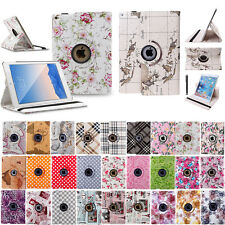 360 Rotating PU Leather Case Smart Cover Stand for Apple iPad mini Air 2 3 4 Pro