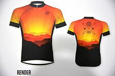 Primal Wear Render Cycling jersey Cycling Jersey with Sunrise