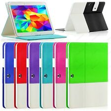 For New Samsung Galaxy Tab 4 10.1 10 Inch Folio Hybrid Case Cover Stand SM-T530