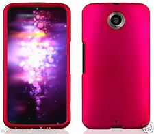 ROSE PINK Snap-On Case Hard Cover for Motorola Nexus 6 / Google Nexus X