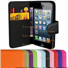 Wallet Flip Leather Case Cover Pouch Holder Skin Various Mobile,s Apple Samsung