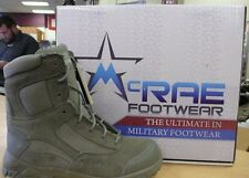 """McRAE FOOTWEAR 8"""" TERASSAULT SAGE GREEN HOT WEATHER Style #5714 TACTICAL BOOT"""