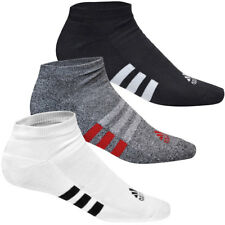 Adidas Golf 2016 Mens No Show - Basic Socks - 3 Pair Pack