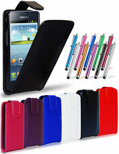 LEATHER FLIP CASE COVER POUCH, LCD FILM & STYLUS FOR SAMSUNG i9100 GALAXY S2 II