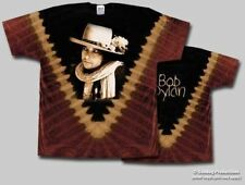 T-Shirts Sizes S-2XL New Mens Bob Dylan Rolling Thunder Tie Dye Tee Shirt