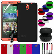 HARD BACK SKIN CASE COVER, LCD FILM, STYLUS PEN & SPEAKER FOR HTC DESIRE 610