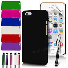 """HARD BACK SKIN CASE COVER, SCREEN GUARD & STYLUS PEN FOR APPLE IPHONE 6 (4.7"""")"""