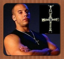 Dominic Toretto's CROSS PENDANT Chain Necklace THE FAST and The FURIOUS AA-54E