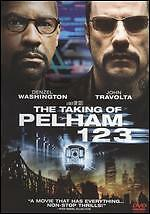 The Taking of Pelham 1 2 3 (DVD, 2009) Denzel Washington Travolta FREE SHIPPING