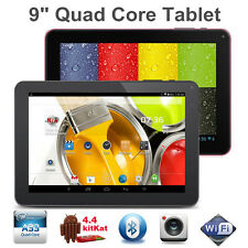 "9"" INCH Google Android 4.4 Allwinner Tablet PC Quad Core WiFi DUAL CAMERA 8GB"