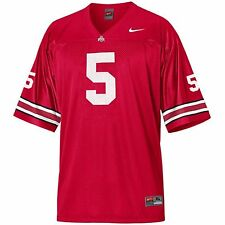 Ohio State Buckeyes #5 Youth Replica Football Jersey - Red