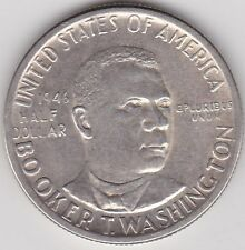USA 1946 SILVER BROOKER T WASHINGTON HALF DOLLAR IN EXTREMELY FINE CONDITION
