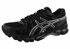 ASICS MENS GEL KAYANO 20 BLACK/ONYX/BLACK  RUNNING SHOES