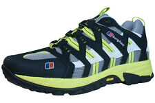 Berghaus Prognosis Womens Tech Trail Trainers / Shoes - Grey Yellow - GT0