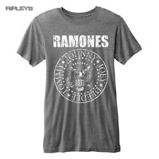 Official T Shirt RAMONES Vintage Distressed Seal Logo   Burnout All Sizes