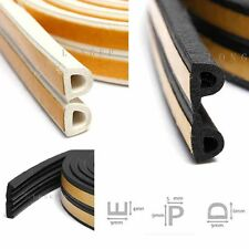 Self Adhesive Window Door Draught Draft Excluder Strip Foam seal tape D E P TYPE