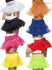 Ladies Tulle Petticoat Fancy Dress Accessory Adults Sexy Underskirt Tutu Ruffle