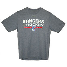 New York Rangers Short Sleeve Athletic Navy Center Ice Rush T-Shirt