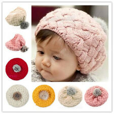 Kid's Cute Baby Infant Toddler Winter Warm Knit Beanie Hat Cap 0019a