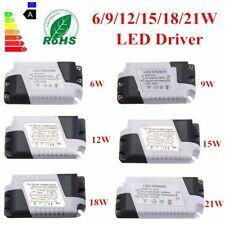 9/12/15/18/21W Dimmable LED Ceilling Light Lamp Driver Transformer Power Supply