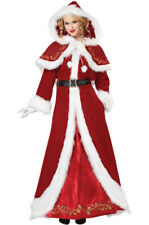 Deluxe Mrs. Santa Claus Christmas Adult Costume