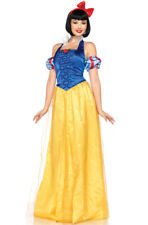 Classic Snow White Disney� Princess Fancy Dress Outfit Adult Halloween Costume