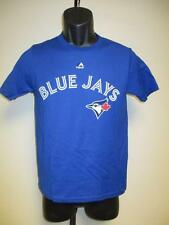 NEW TORONTO BLUE JAYS YOUTH S-M MAJESTIC BLUE T-SHIRT