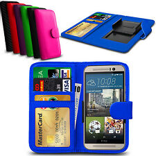 Clip On PU Leather Flip Wallet Book Case Cover For HTC Sensation XE