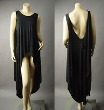 Urban Outfitters Avant Garde Open Back Long Asymmetric Trapeze 178 mv Tunic S M