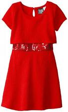 Pogo Club Girls Red Jessica Dress Size 4 5/6 6X $40