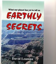 Signed EARTHLY SECRETS, WHAT OUR PLANET HAS YET TO TELL Leaman Tasmania geology