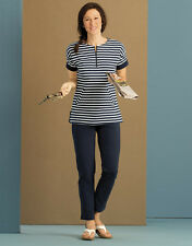 Orvis French Terry Navy-striped Separates / Shirt