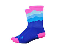 Defeet Aireator Ridge Supply Skyline Socks - Pink