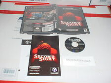 SECOND SIGHT game complete in case w/ manual GAMECUBE or Nintendo Wii
