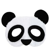Plush Panda Animal  Eye Mask Masked Masquerade Ball Photo Booth Fancy Dress