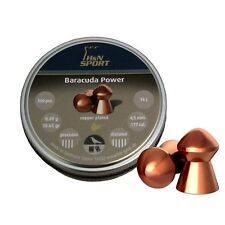 H&N Baracuda POWER Heavy Weight and Hard Target Shooting .177 & .22 Pellets