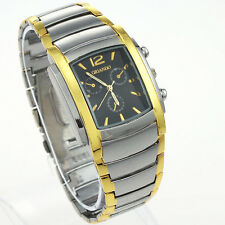 Luxury Golden Men Wristwatch Stainless Steel Fashion Watch Party Gift NG11