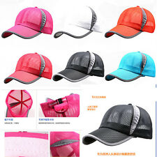 Men Women Sports Outdoor Adjustable Tennis Cap/Hat New Hiking Golf Baseball Caps