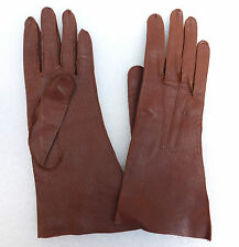 CC41 leather gloves Vintage 1940s war-time WW2 utility mark clothing Jevon Jevan