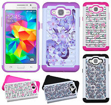 For Samsung Galaxy Grand Prime IMPACT Dazzling Hard Diamond Case Phone Cover
