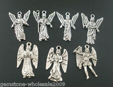 Wholesale W09 MIXED Silver Angel Charms Pendants