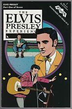 ELVIS PRESLEY EXPERIENCE COMIC BOOK SET 1-7 FROM 1993 LOT OF 7 BOOKS NEAR MINT