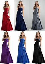 New Sexy Evening Prom Bridesmaid Dress Party Gown Stock Size: 6 8 10 12 14 16