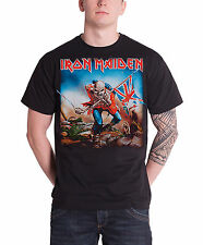 Iron Maiden T Shirt The Trooper Killers band logo new black Official