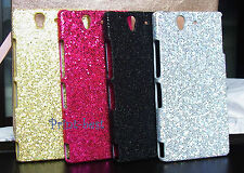 Bling Glitter Shining Sequins Hard Back Case for Samsung/Blackberry/Sony au**