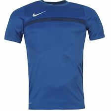 Nike Academy Football Training Jersey Mens Royal Shirt Top Tee Soccer