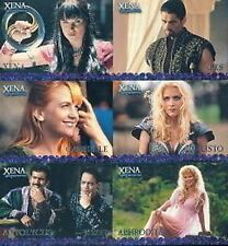 Xena Season 4&5 Rittenhouse SET OF 6 UK PREVIEW FACTORY CARDS LTD 999
